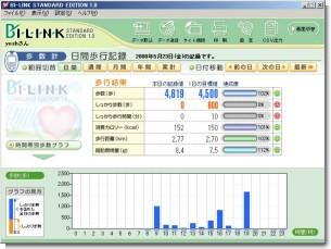BI-LINK-日間集計