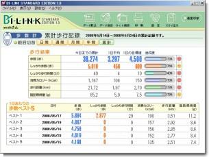 BI-LINK-累計画面